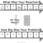 Behavior Chart - Problem Reaction