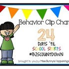 Behavior Clip Chart {Free}