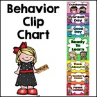 Behavior Clip Chart - Back to School