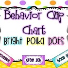 Behavior Clip Chart {Bright Polka Dots}