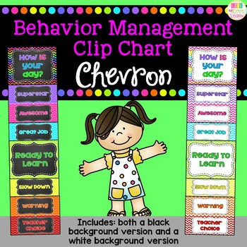 http://www.teacherspayteachers.com/Product/Behavior-Clip-Chart-Chevron-771947