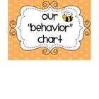 Behavior Clip Chart Damask Print Labels