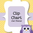 Behavior Clip Chart - Owls