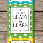 Behavior Clip Chart - Rainbow Polka Dot - Classroom Management
