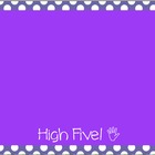 Behavior Color Chart - Polka Dots - Purple