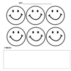Behavior Incentive Smiley Sheet {Freebie}