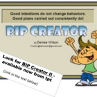 Behavior Intervention Plan Creator