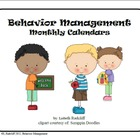 Behavior Management Calendars