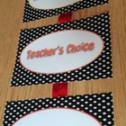 Behavior Management Clip Chart System-Theme: Dots
