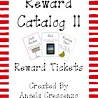 Behavior Management Reward Catalog II Reward Tickets