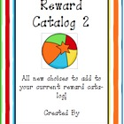 Behavior Management Reward Catalog II