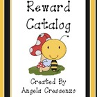 Behavior Management Reward Catalog &amp; Punch Cards Bee Theme