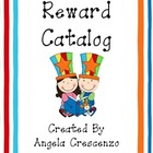 Behavior Management Reward Catalog & Punch Cards Circus Theme
