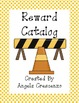 Behavior Management Reward Catalog &amp; Punch Cards Construct