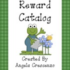 Behavior Management Reward Catalog & Punch Cards Garden Fr