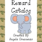 Behavior Management Reward Catalog & Punch Cards Jungle Sa