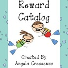 Behavior Management Reward Catalog &amp; Punch Cards Ocean Theme