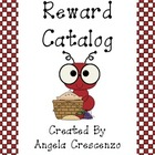 Behavior Management Reward Catalog & Punch Cards Picnic An