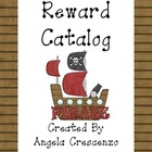 Behavior Management Reward Catalog &amp; Punch Cards Pirate Theme