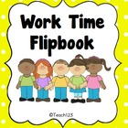 Behavior Mgmt. - Work Time Flipbook