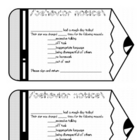 Behavior Notice for Elementary Classroom