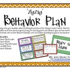 Behavior Plan {ZigZag}