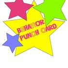 Behavior Punch Card System