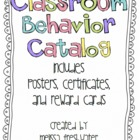 Behavior Reward Catalog Posters, Certificates, and More Galore
