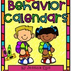 Behavior calendars for 2014-2015