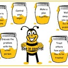 "Behaviour chart ""Bee in control"""