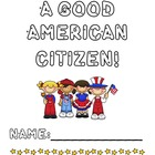 Being A Good Citizen Booklet