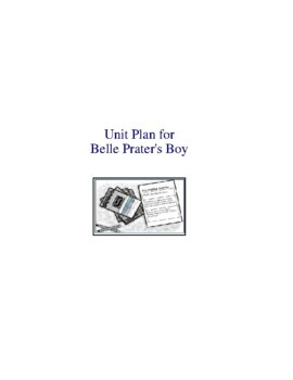 Belle Prater's Boy Literature and Grammar Unit