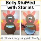 Belly Stuffed with Stories Turkey Craftivity