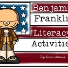 Ben Franklin Fill-In Book, Write the Room, & More!
