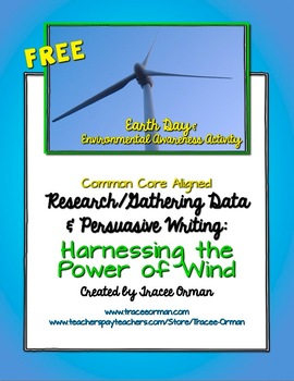 Benefits of Wind Energy Activity -Data Collection & Persua