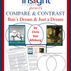 Ben's Dream & Just A Dream by Chris Van Allsburg Compare &