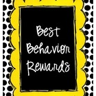 Best Behavior Rewards with Scrabble Tiles