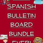 Best Ever Spanish Bulletin Board Bundle!/Expresiones, Cuer