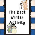 Best Winter Activity Writing Set (Argument Essay Writing)