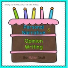 Personal Narrative & Opinion Writing  {CCSS BC AUS aligned}