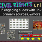 Beyond Civil Rights Timeline PPT - Black History Month