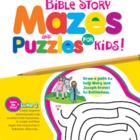 Bible Alphabet Activities for Kids Christian Puzzle Book &