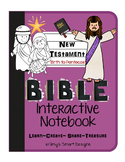 Bible Interactive Notebook: New Testament-Jesus' Birth to