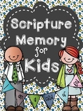Bible Memory Verse for Kids (Whole Year