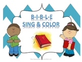 Bible Song & Coloring Activity
