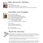 Bible Stories for Children Unit Study - Unit #2 Angels