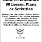 Bible as Literature 50 Lesson Plans