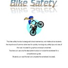 Bicycle Safety Handout and Worksheet