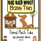 Big Bad Wolf Base Ten Tiered Math Tub
