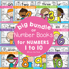 Big Bundle of Kindergarten Number Books